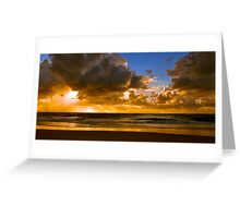 Ocean Sunrise Greeting Card