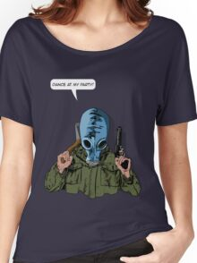 """Dead Man's Shoes """"Dance at my party"""" Comic Style Illustration  Women's Relaxed Fit T-Shirt"""
