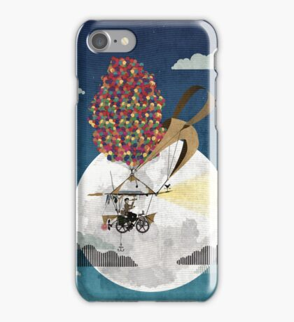 Flying Bicycle iPhone Case/Skin