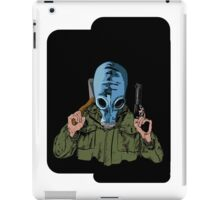 Dead Man's Shoes Comic Style Illustration iPad Case/Skin