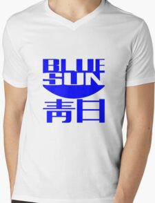 Firefly: Blue Sun Corporate Logo Mens V-Neck T-Shirt