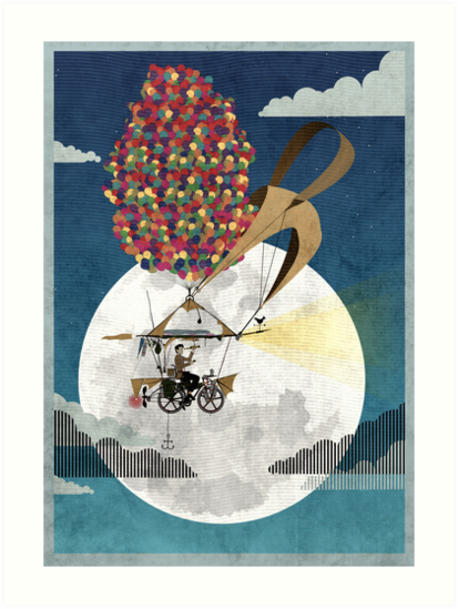 Flying Bicycle by Andy Scullion
