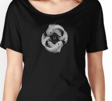 The rotating Pisces phases of the moon Women's Relaxed Fit T-Shirt