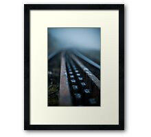 The Mountain Railway Framed Print