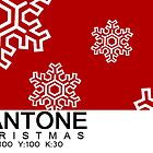 Pantone Christmas - Red by khuship