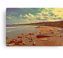 White Beach Canvas Print