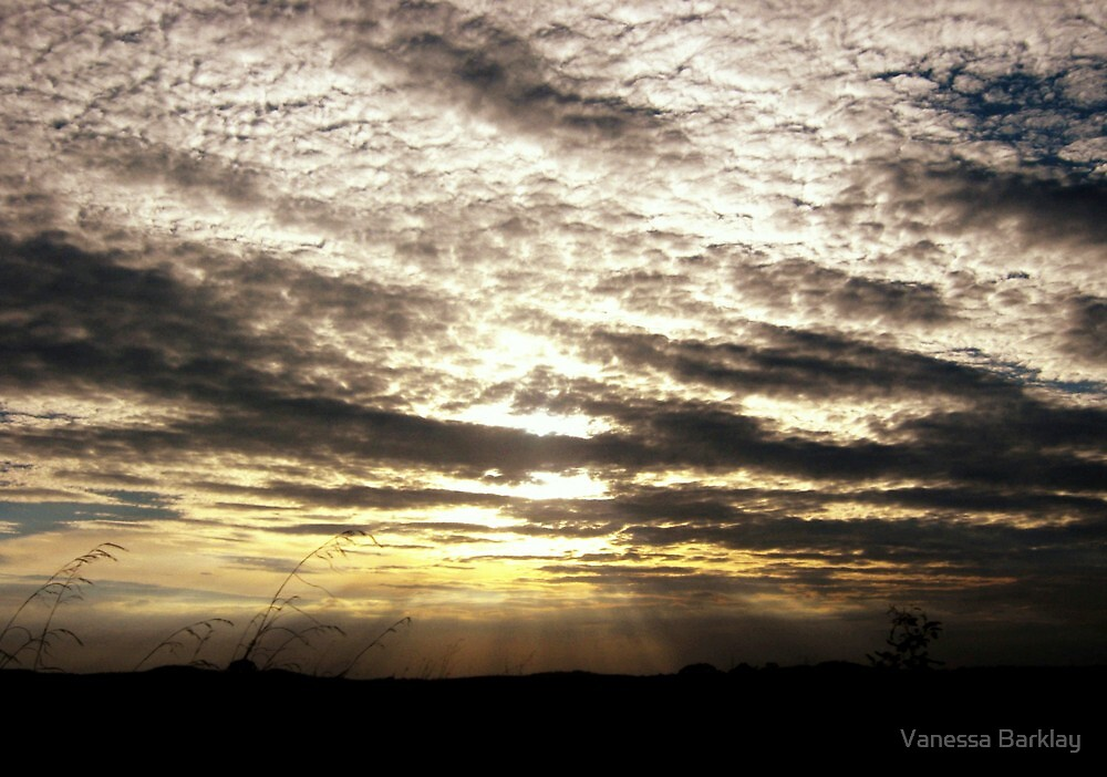 Sunset Over Kaban Country by Vanessa Barklay