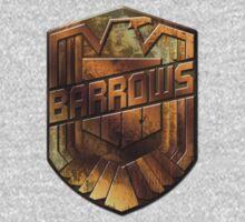 Custom Dredd Badge Shirt - Pocket - (Barrows)  Kids Clothes