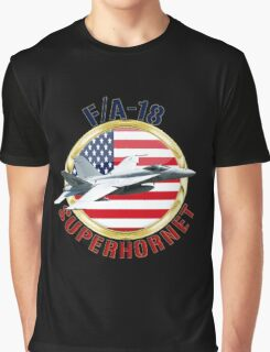 F/A-18 SuperHornet  Graphic T-Shirt