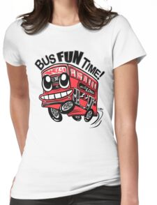 Bus Fun Time Womens Fitted T-Shirt