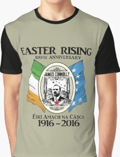 James Connolly - Irish Citizen Army Graphic T-Shirt