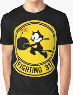 Fighting 31 - Tomcatters Graphic T-Shirt