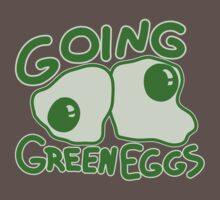 Going Green Eggs One Piece - Short Sleeve
