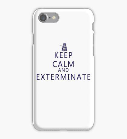 Keep Calm and Exterminate Dalek iPhone Case/Skin