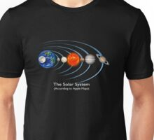 The Solar System - (According to Apple Maps) Unisex T-Shirt