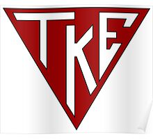 TKE: Triangle Logo Poster