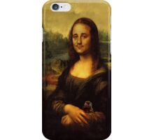 Bill Murray as Mona Lisa iPhone Case/Skin