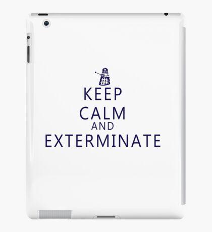 Keep Calm and Exterminate Dalek iPad Case/Skin