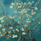 Van Gogh Blossoming Almond Tree Vintage Fine Art by nadil