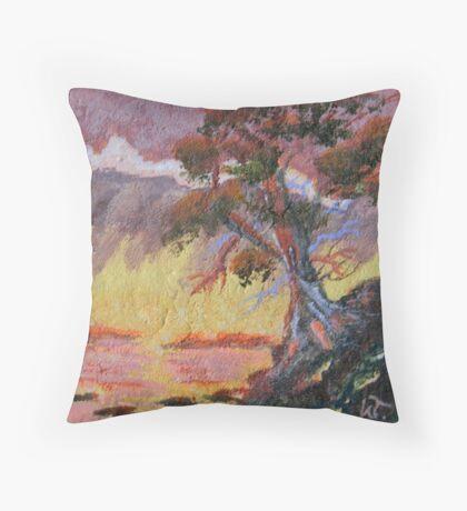 Cypress Sun Throw Pillow