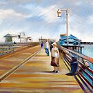 Santa Barbara - Stearns Wharf by Filip Mihail