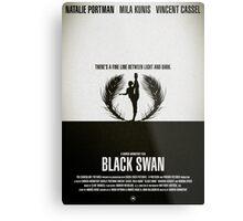 """Movie Poster - """"BLACK SWAN"""" Metal Print"""