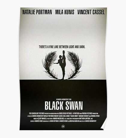 "Movie Poster - ""BLACK SWAN"" Poster"