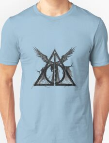 Harry Potter - Sign of the Deathly Hallows and Death T-Shirt