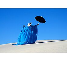 Mystic Blue 1 Photographic Print