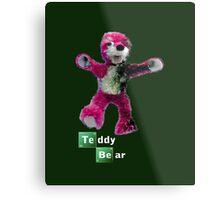 Breaking Bad Teddy Bear Metal Print