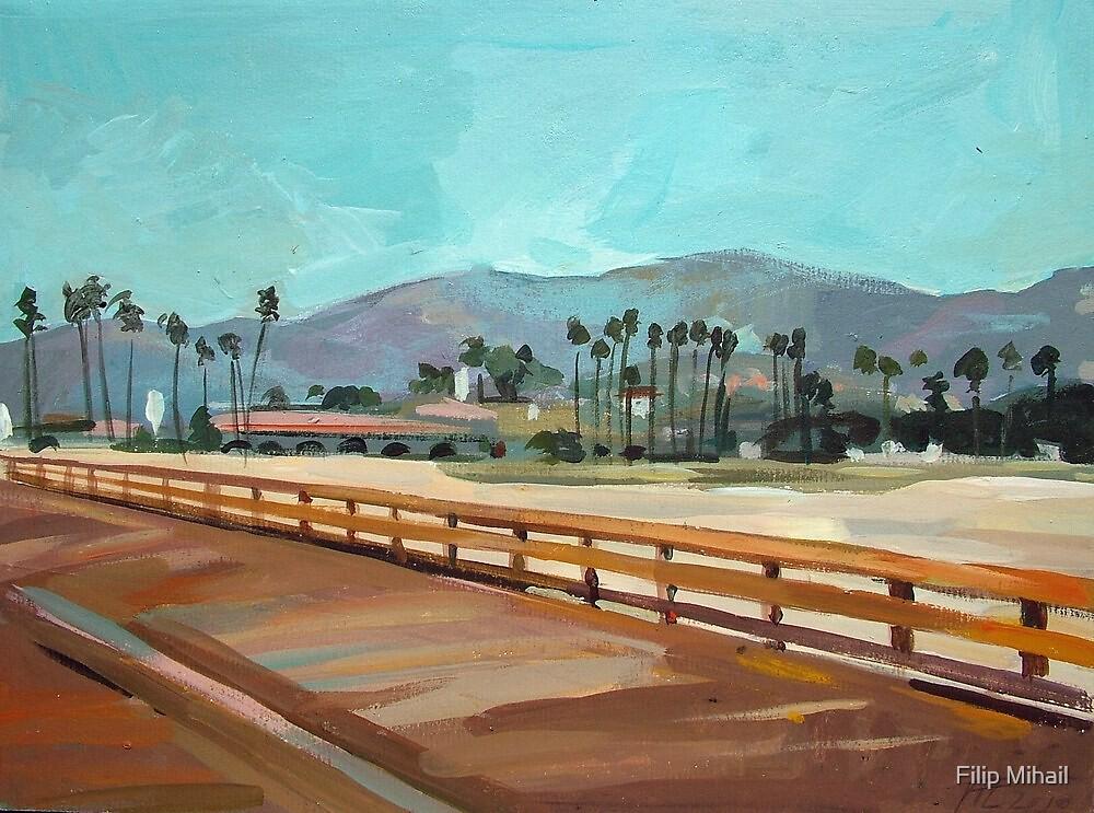 Santa Barbara Pier by painterflipper