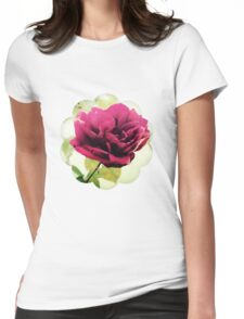 January Rose Womens Fitted T-Shirt