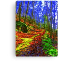 The Enchanted Trail Canvas Print