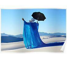Mystic Blue 3 Poster