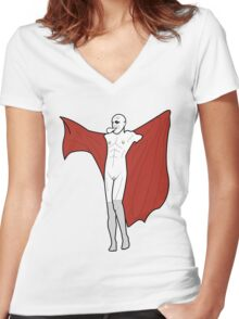 I*d Fuck Me  Women's Fitted V-Neck T-Shirt