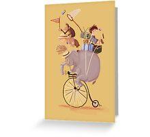 explorers  Greeting Card