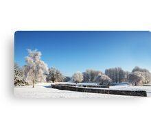 Barnham Broom Winter Wonderland Canvas Print