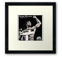 George Foreman Framed Print