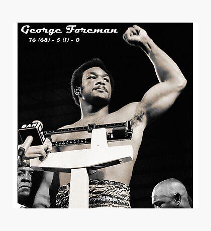 George Foreman Photographic Print