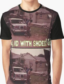 Go, Kid With Shoes! Go! Graphic T-Shirt