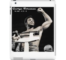 George Foreman iPad Case/Skin