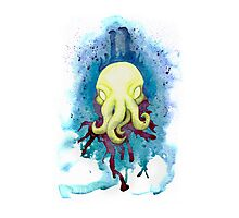 Cthulhu Waits Dreaming Photographic Print