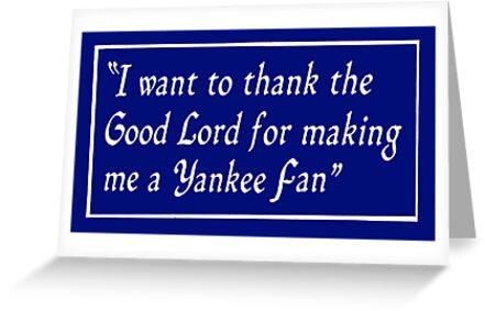 Yankee Fan by Paul Gitto