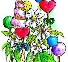 Sweet flora 1 by Renata Lombard