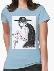 At the Hands of He Womens Fitted T-Shirt