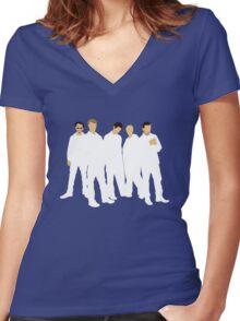 Backstreet's Back! Women's Fitted V-Neck T-Shirt