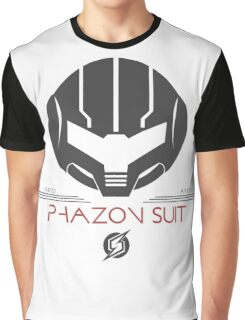 Phazon Suit Tee - Metroid Graphic T-Shirt