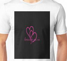 Amour de ma vie Unisex T-Shirt