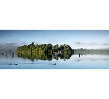 Early Morning Reflections of Derwent Isle Photographic Print