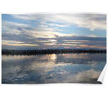 Mirror sea Poster